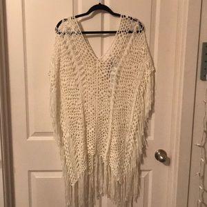 Crochet cover up
